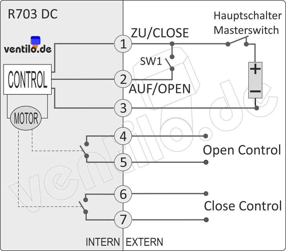 VCR01-77 V24 DN40 elektr. Abwasserventil m. Kontrollleitung 24V ...